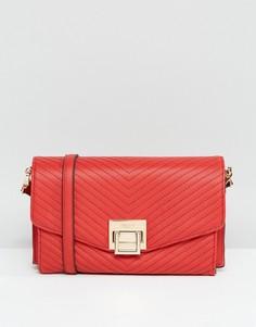 Стеганая сумка через плечо Dune Francesca - Красный