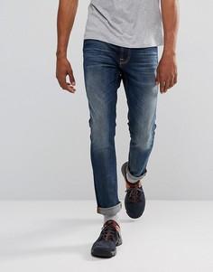 Зауженные джинсы Nudie Jeans Co Lean Dean - Синий