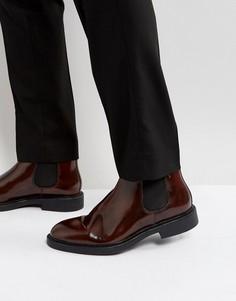 Блестящие ботинки челси Vagabond Alex - Коричневый
