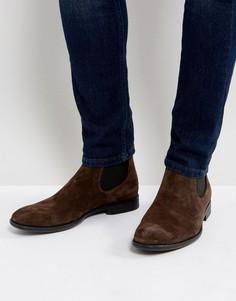 Замшевые ботинки челси Vagabond Harvey - Коричневый
