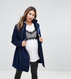 Шерстяное пальто 3 в 1 Modern Eternity - Темно-синий