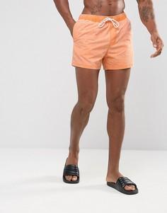 Оранжевые шорты для плавания ASOS - Оранжевый