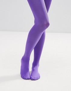 Фиолетовые колготки плотностью 90 ден ASOS - Фиолетовый