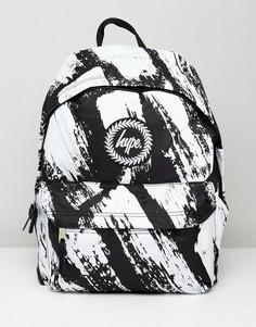 Черный рюкзак с принтом Hype - Черный
