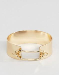 Браслет-манжета Nylon - Золотой