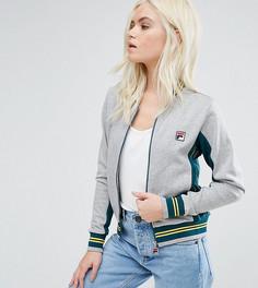 Куртка с полосами на рукавах Fila Petite - Серый