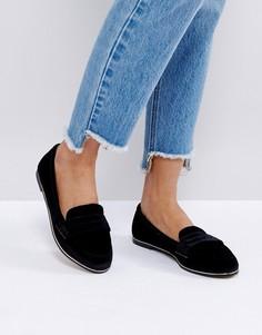 Туфли на плоской подошве ASOS MEADOW - Черный