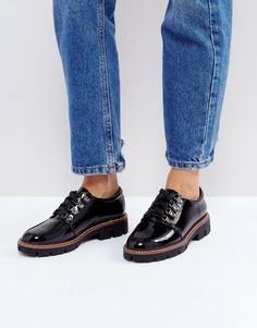 Походные туфли на плоской подошве ASOS MANOR - Черный