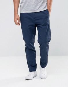Суженные книзу спортивные брюки United Colors of Benetton - Темно-синий