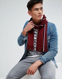 Красный шарф с полосками Tommy Hilfiger - Красный