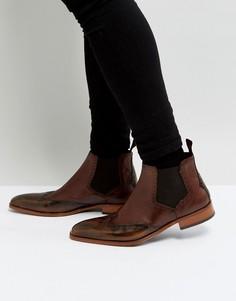 Светло-коричневые ботинки челси Jeffery West Capone - Рыжий