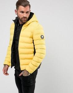 Желтая дутая куртка Good For Nothing - Желтый
