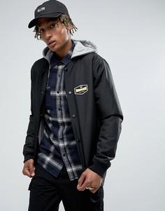 Куртка с капюшоном Volcom - Черный