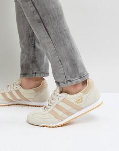 Коричневые кроссовки adidas Originals Dragon OG - Коричневый