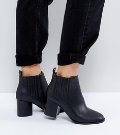 Ботинки челси на каблуке ASOS ROLAND - Черный