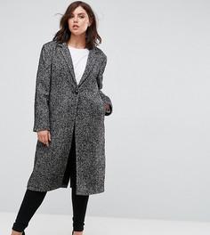 Твидовое пальто Elvi - Серый