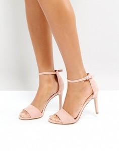 Розоватые босоножки на каблуке ALDO Fiolla - Розовый