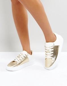 Кроссовки металлик ALDO - Золотой