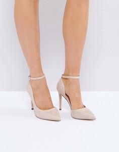 Телесные туфли-лодочки с острым носком Call It Spring Exerina - Бежевый