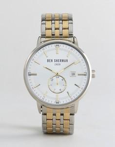 Наручные часы Ben Sherman WB071GSM - Серебряный
