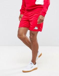 Спортивные шорты с логотипом Kappa - Красный
