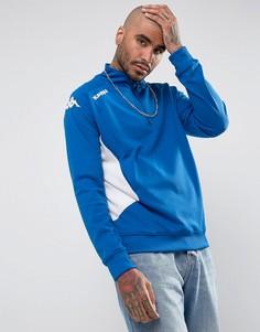 Спортивный свитшот на молнии Kappa Foligno - Синий