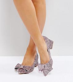 Туфли для широкой стопы на каблуке ASOS SACRED - Розовый
