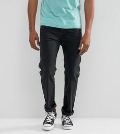 Черные суженные книзу джинсы слим Diesel Akee - Черный
