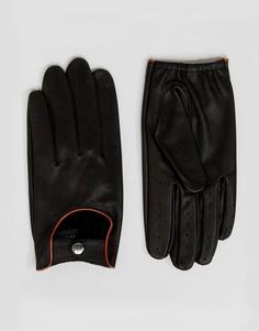 Черные автомобильные перчатки Barneys - Черный Barneys Originals