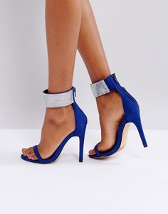Босоножки на каблуке Truffle Collection - Синий