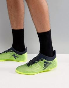 Желтые кроссовки adidas Football X 17.3 CG3717 - Желтый