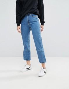 Джинсы в винтажном стиле Moss Copenhagen - Синий