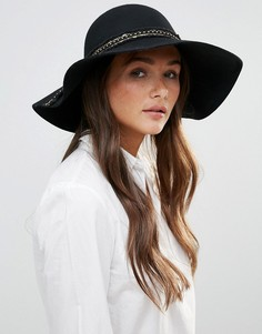 Декорированная шляпа Vixen - Черный