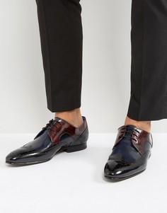 Блестящие туфли дерби Ted Baker Oakke - Мульти