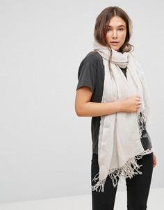 Оверсайз-шарф Only - Кремовый