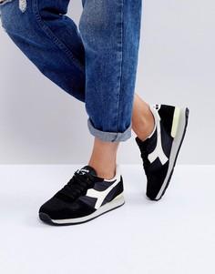Черные кроссовки Diadora Camaro - Черный