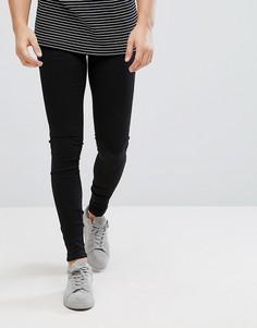 Черные облегающие джинсы Dr Denim - Черный