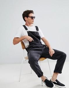 Свободный джинсовый комбинезон Dr Denim - Черный