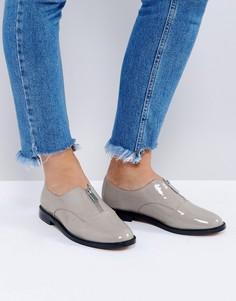 Туфли на плоской подошве ASOS MATCHSTICK - Серый