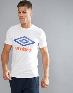 Футболка с логотипом Umbro - Белый