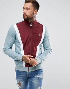 Спортивная куртка со вставкой спереди Fila Vintage - Красный