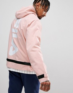 Куртка с логотипом на спине Fila - Розовый