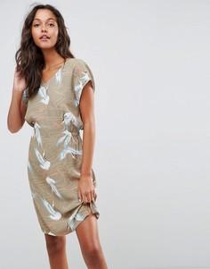Платье с принтом Soaked In Luxury - Мульти