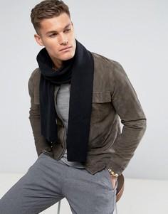 Черный шарф Selected Homme Leth - Черный