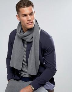 Серый шарф Selected Homme Leth - Серый