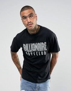 Черная футболка с логотипом Billionaire Boys Club - Черный