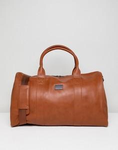 Светло-коричневая сумка Peter Werth - Рыжий