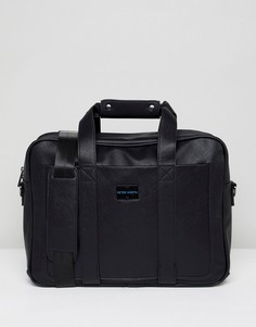 Черная сумка для документов Peter Werth - Черный