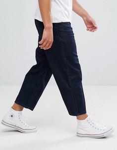 Темные широкие джинсы Kiomi - Темно-синий
