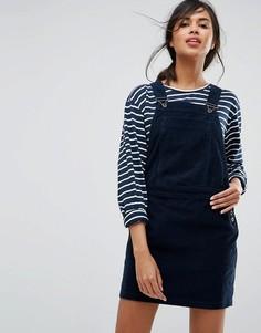 Вельветовое платье-комбинезон Jack Wills - Темно-синий